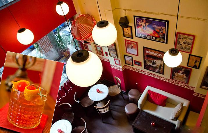Προσφορά HappyDeals  - 7€ από 14€ για 2 απολαυστικά Cocktails ή 2 ποτά σε ένα χώρο που παραπέμπει σε γαλλικό bistro, στο ''Σχοινοβάτη'' στο κέντρο της Αθήνας - έκπτωση 50%