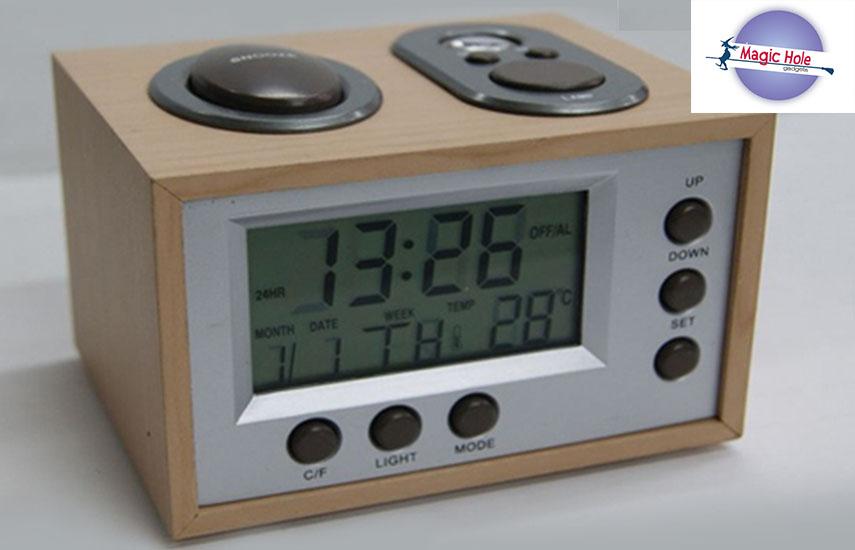 5,9€ απο 13€ για Επιτραπεζιο Ρολοι – Ξυπνητηρι – Θερμομετρο – Ημερολογιο, με προτζεκτορα για εμφανιση της ωρας τη νυχτα στον τοιχο σας (δυνατοτητα παραδοσης στο χωρο σας)