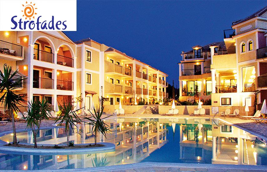Πασχα στη ΖΑΚΥΝΘΟ: 245€ για 4ημερη αποδραση 2-3 ατομων, με Hμιδιατροφη & Eορταστικα Γευματα, στο πολυτελες 4* »Strofades Beach Hotel» στο Τσιβιλι