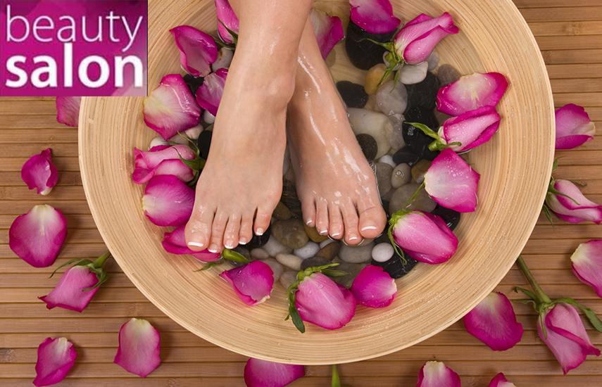 11,90€ απο 25€ για Ημιμονιμη Βαφη Κατω Άκρων, σε χρωμα επιλογης σας η γαλλικο, στο υπεροχο »Beauty Salon» στο Χαλανδρι