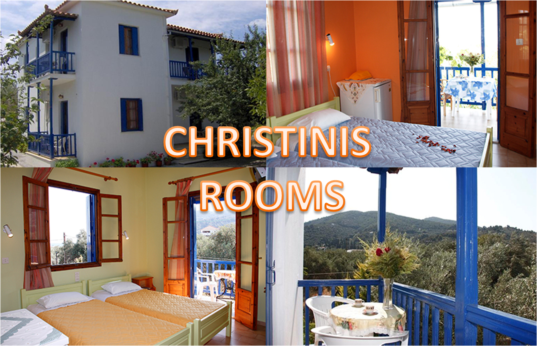 Kαλοκαιρι στην ΣΚΟΠΕΛΟ: Απο 34€/ημερα για αποδραση 2 ατομων σε δικλινο δωματιο στα »Christinis Rooms» στη Χωρα