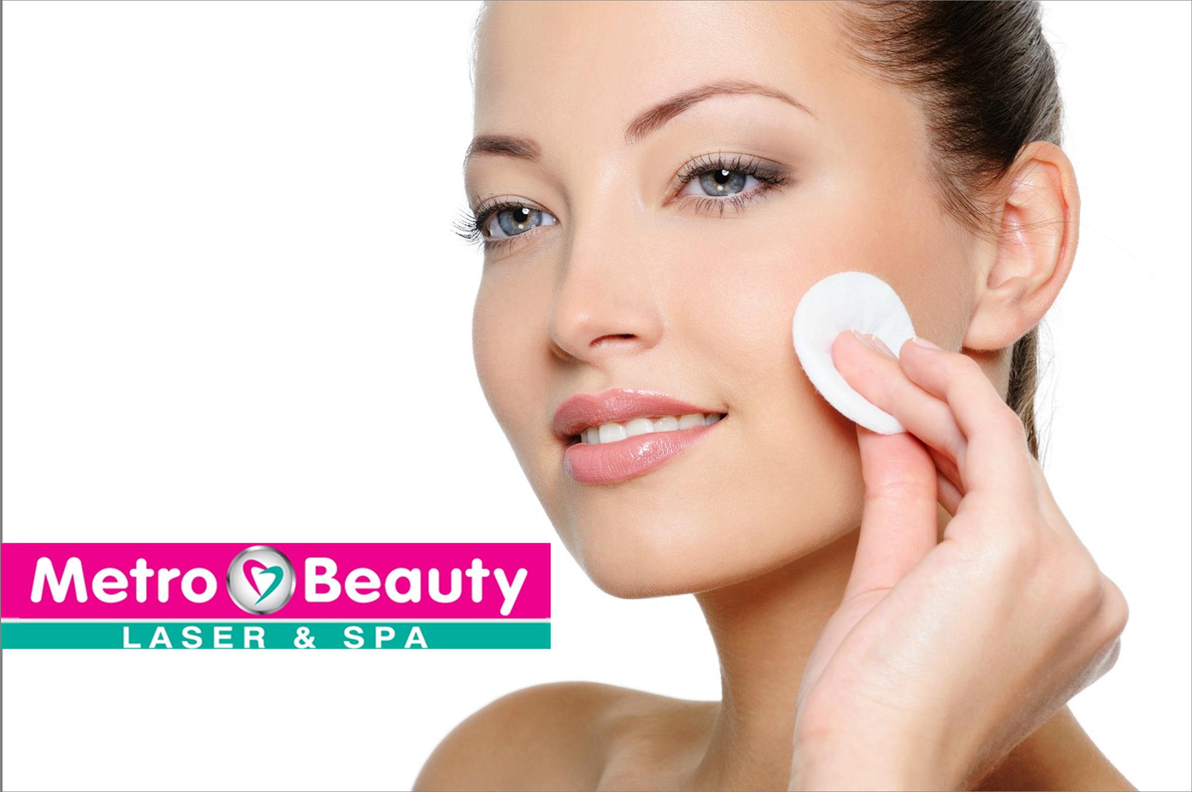 9€ από 30€ για Βαθύ Καθαρισμό Προσώπου σε 10 στάδια, στο ''Metro Beauty Laser & Spa'' στο Μετρό Αγ.Δημητρίου