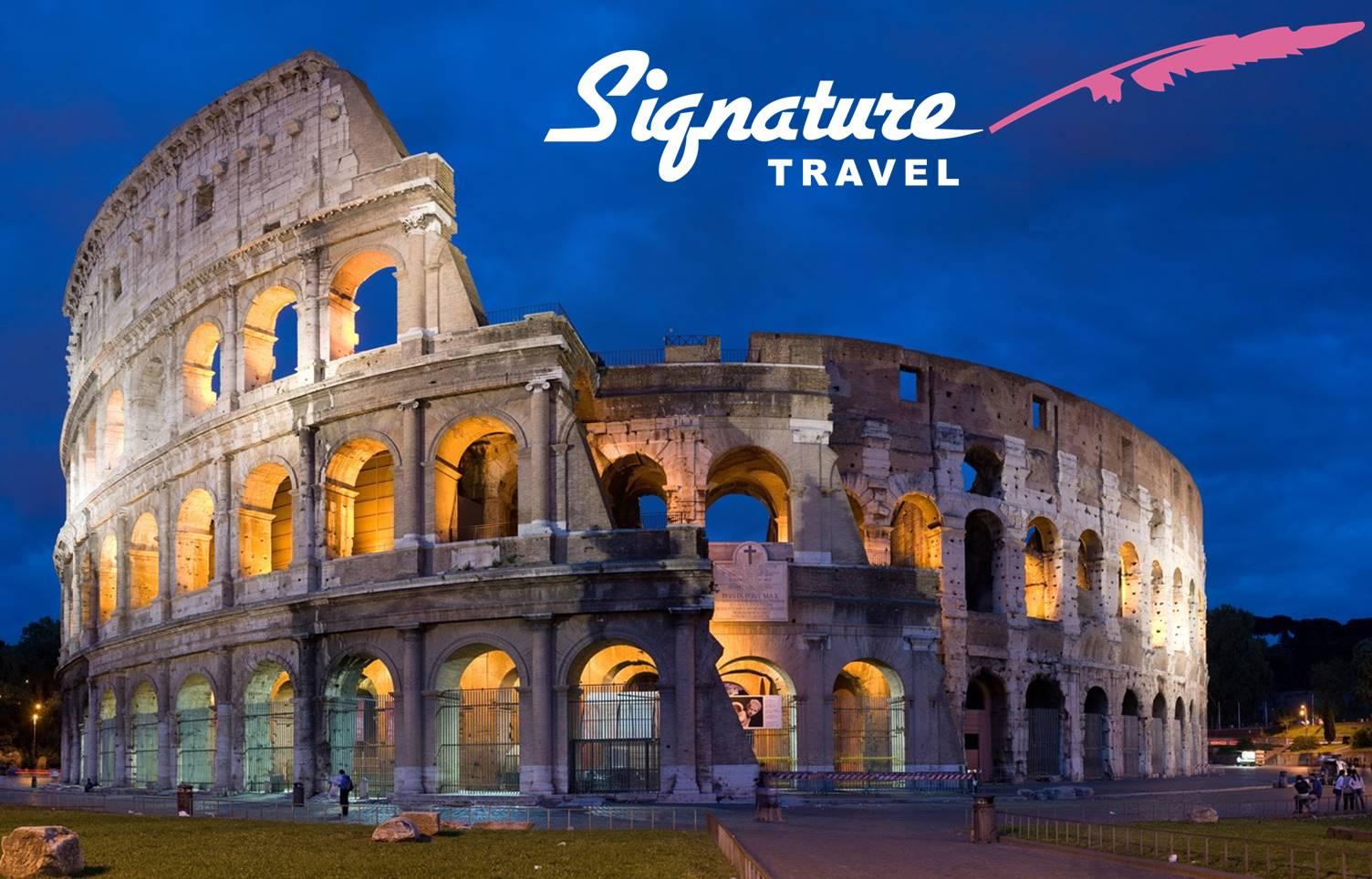 ΡΩΜΗ με την υπογραφή του ''Signature Travel'' στην καλύτερη τιμή που έγινε ποτέ! 179€ για 4 μέρες με Αεροπορικά, Κεντρικό Ξενοδοχείο με Πρωινό, Φόρους πληρωμένους & Ξενάγηση στο κέντρο της Ρώμης (κάθε Τετάρτη) εικόνα