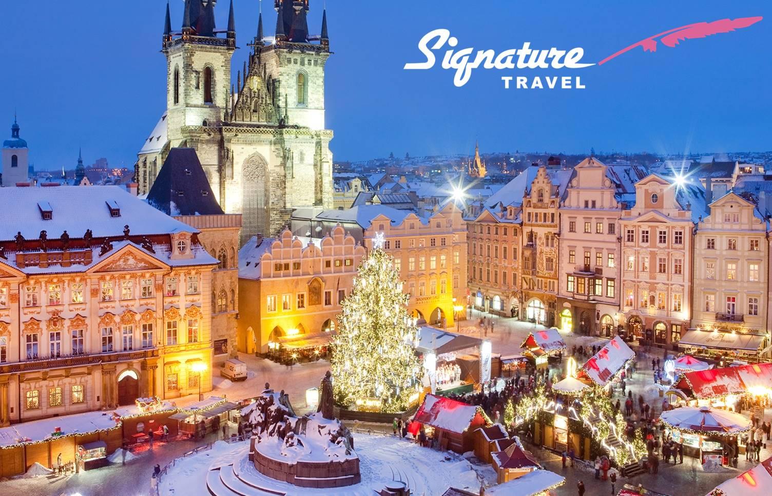 ΧΡΙΣΤΟΥΓΕΝΝΑ στην Πραγα με την Υπογραφη του »Signature Travel»: 450€ για 4 μερες με Αεροπορικα, Ξενοδοχειο 4*, Ημιδιατροφη, Φορους, Μεταφορες, Ξεναγηση