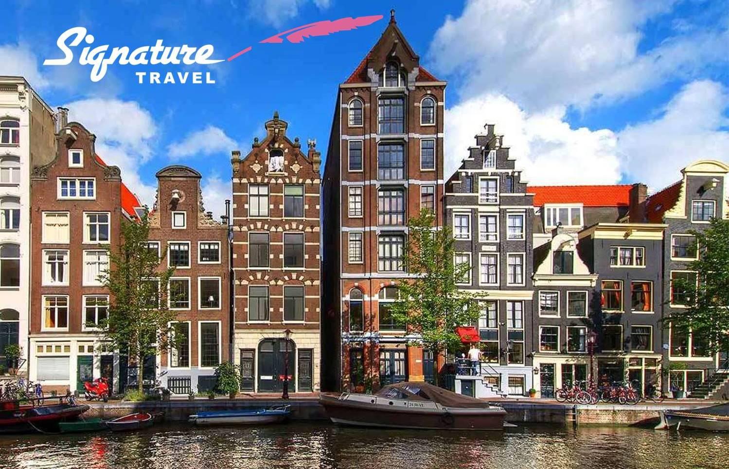 ΑΜΣΤΕΡΝΤΑΜ με την Υπογραφή του ''Signature Travel'' σε τιμή που δεν ξανάγινε! 349€ για 4 μέρες με Αεροπορικά, Κεντρικό Ξενοδοχείο & Φόρους πληρωμένους εικόνα