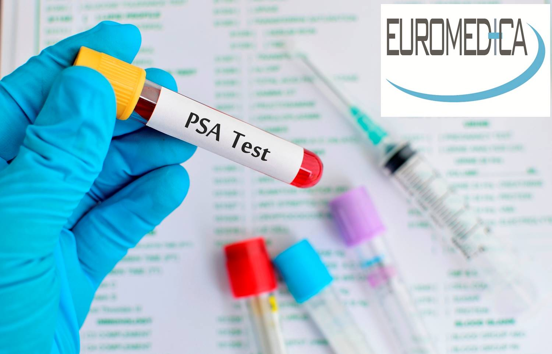 25€ από 80€ για ολοκληρωμένη εξέταση PSA και FREE PSA, για έλεγχο του προστάτη, στην EUROMEDICA