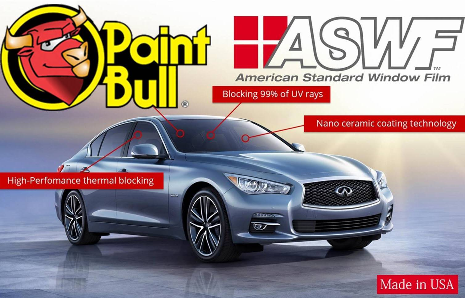 Από 95€ για τοποθέτηση Επαγγελματικών Μεμβρανών Αυτοκινήτου της ΑSWF, με εγγύηση εφ'όρου ζωής, στο ολοκαίνουργιο ''Paintbull'' Μεσογείων (Εθνική Άμυνα) εικόνα