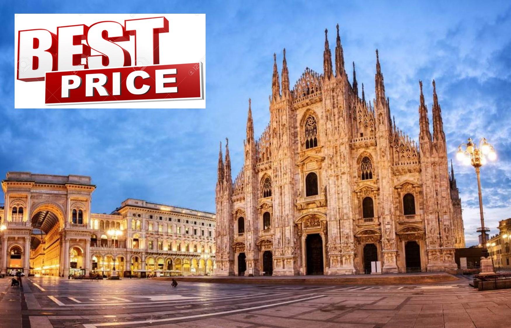 ΜΙΛΑΝΟ στην καλυτερη τιμη της αγορας! Απο 199€ για 4 μερες με Αεροπορικα, Κεντρικο Ξενοδοχειο & Φορους πληρωμενους