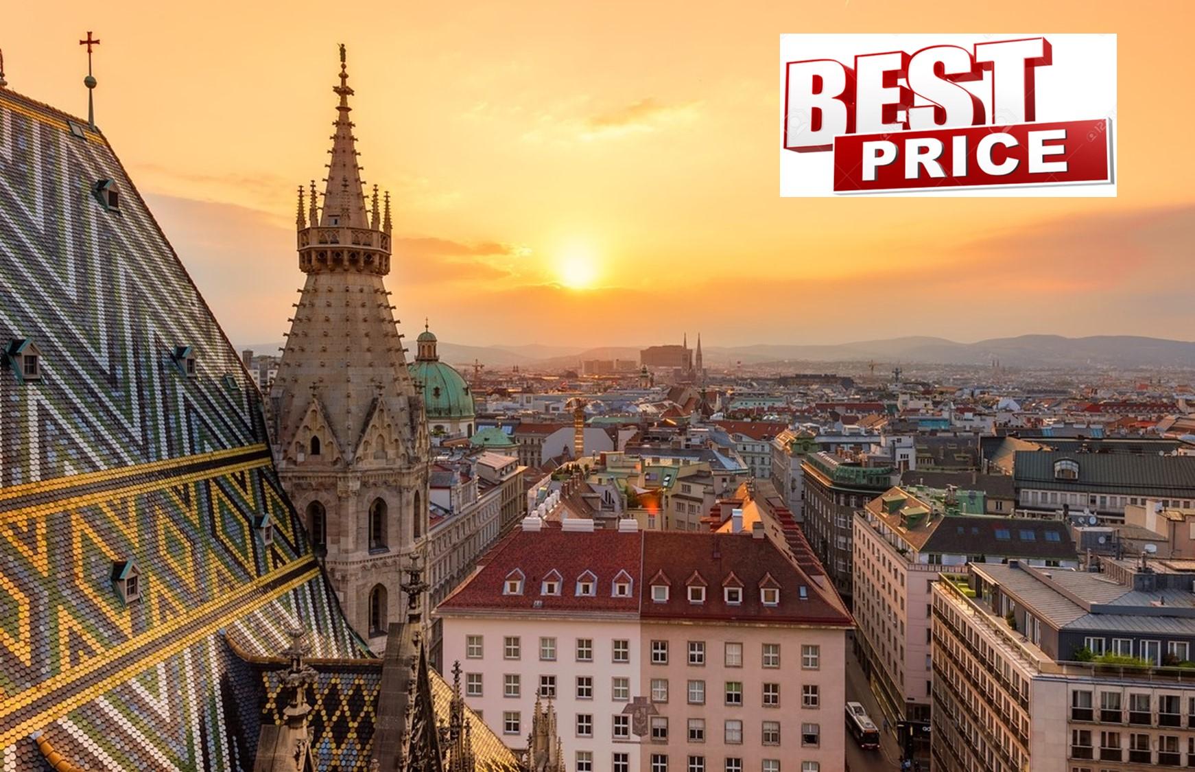 Προσφορά HappyDeals  - ΒΙΕΝΝΗ στην καλύτερη τιμή που έγινε ποτέ! 299€ για 4 μέρες με Αεροπορικά, Κεντρικό Ξενοδοχείο & Φόρους πληρωμένους