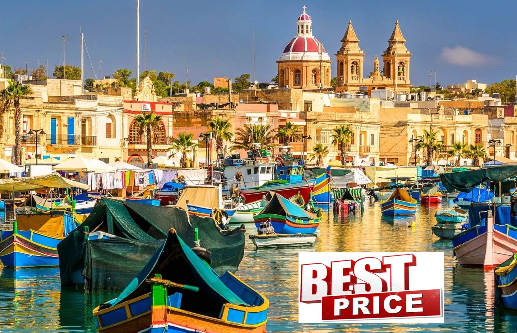 ΜΑΛΤΑ στην καλύτερη τιμή που έγινε ποτέ! 299€ για 5 μέρες με Αεροπορικά, Κεντρικό Ξενοδοχείο & Φόρους πληρωμένους