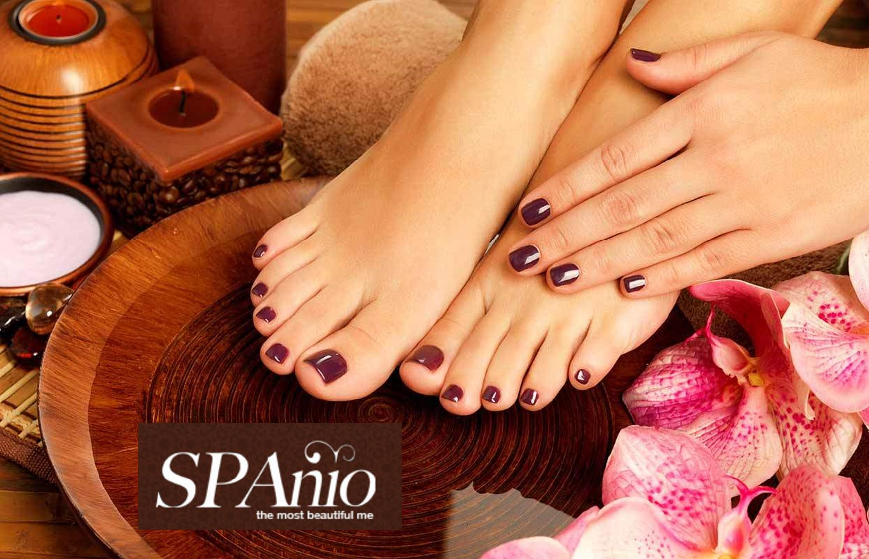 11,9€ από 35€ για Spa Manicure, Spa Pedicure, Ενυδατικό Spa Ακρων, Ποδόλουτρο με Jacuzzi & Peeling ποδιών, στο minimal κέντρο ομορφιας ''SPAnio'' στην Ν.Σμύρνη εικόνα