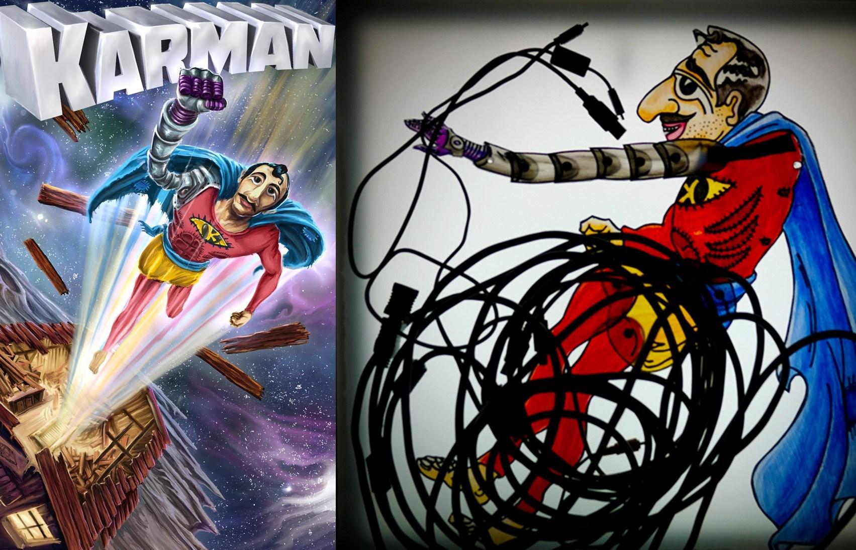 5€ από 8€ για είσοδο στον ''Karman'' τον Super Καραγκιόζη, ένα σύγχρονο σούπερ ήρωα που εντυπωσιάζει με την υπερδύναμη του χιούμορ του, στο Θέατρο ΠΚ στο Ν.Κόσμο εικόνα