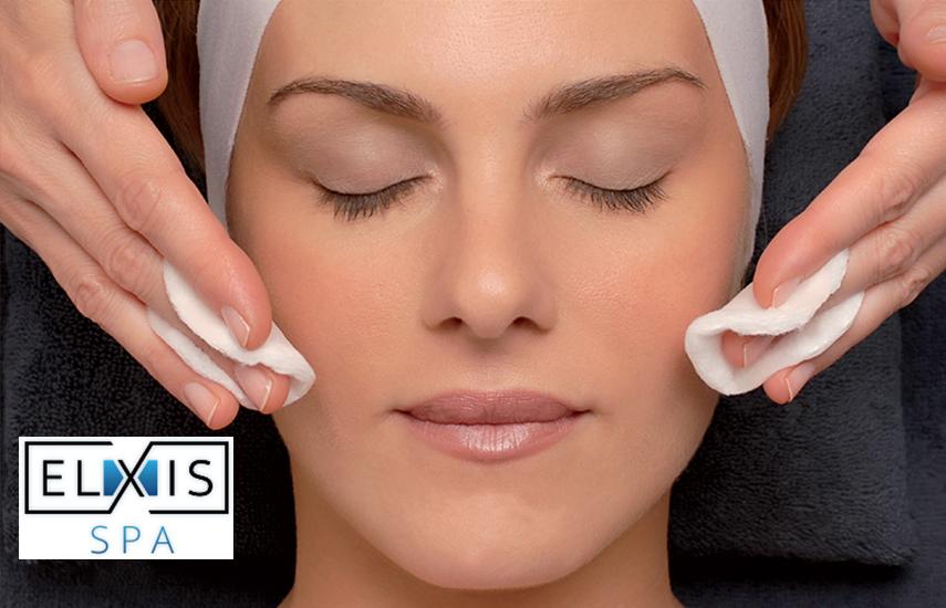 18€ από 90€ για το ELXIS FACE TREATMENT, ένα βαθύ καθαρισμό προσώπου με υπέρηχους σε συνδυασμό με βαθιά ενυδάτωση, στο πολυτελές