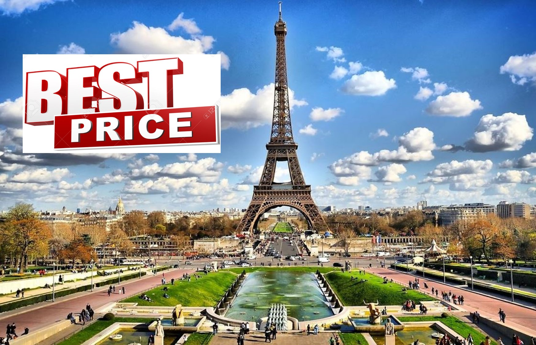 ΠΑΡΙΣΙ στην καλυτερη τιμη της αγορας! Απο 350€ για 4 μερες με Αεροπορικα, Κεντρικο Ξενοδοχειο & Φορους πληρωμενους
