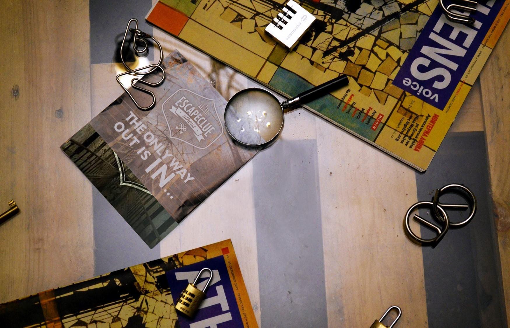 7,5€ από 14€ για να παίξετε με την παρέα σας στα Δωμάτια Απόδρασης του ''Escape Clue'' στο Περιστέρι, ένα από τα μεγαλύτερα Escape Rooms της πόλης