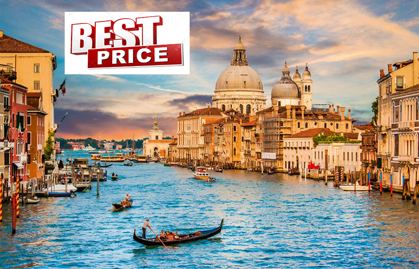 ΒΕΝΕΤΙΑ στην καλυτερη τιμη της αγορας! Απο 360€ για 4 μερες με Αεροπορικα, Κεντρικο Ξενοδοχειο & Φορους πληρωμενους