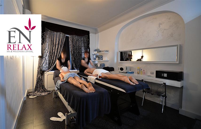 40€ από 170€ για Relaxing ή Χαβανέζικο Μασάζ 2 ατόμων (σε κοινό δωμάτιο) με Χαμάμ ή Σάουνα, στο υπερπολυτελές ''En Relax Spa & Wellness Center'' στο Kολωνάκι εικόνα