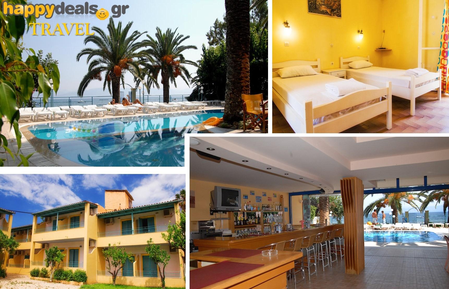 Διακοπές στην ΚΕΡΚΥΡΑ: Από 49€ για 5ήμερη απόδραση στο παραθαλάσσιο ξενοδοχείο ''Roussos Studios'', στον Κάβο εικόνα