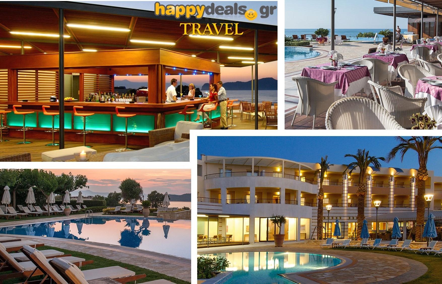 Διακοπές στην ΚΡΗΤΗ: Από 175€ για 5ήμερη απόδραση, με Ημιδιατροφή, στο ονειρεμένο 5* ''Cretan Dream'' στο Σταλό Χανίων εικόνα