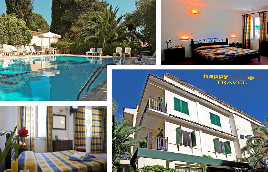 Διακοπές στην ΚΕΡΚΥΡΑ: Από 85€ για 5ήμερη απόδραση, με Πρωινό, στο γαλήνιο ''Galaxias & Eyan Hotel'' στα Γουβιά εικόνα