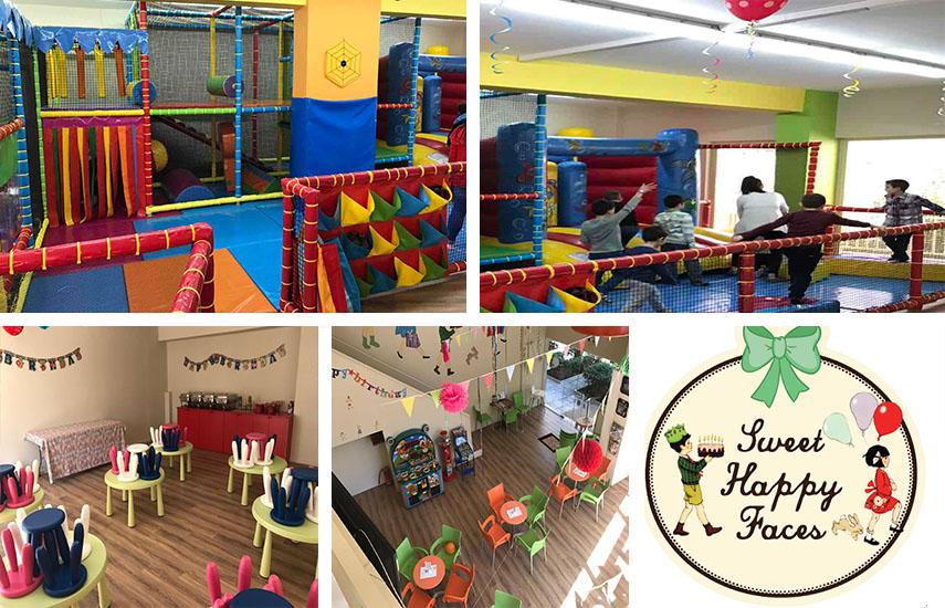 3,9€ από 9,8€ για Είσοδο 1 παιδιού & του συνοδού του, με Χυμό, Τοστ & Ρόφημα, στον παιδότοπο ''Sweet Happy Faces'' στη Νέα Σμύρνη εικόνα