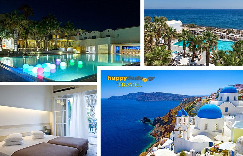 Διακοπές στην ΣΑΝΤΟΡΙΝΗ: Από 175€ για 5ήμερη απόδραση με Πρωινό, στο μαγευτικό ''Kamari Beach Hotel'', στο Καμάρι εικόνα
