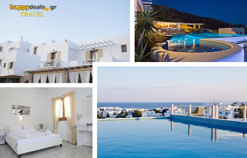Διακοπές στη ΜΥΚΟΝΟ: Από 99€ για 4ήμερη απόδραση, με Πρωινό, στο περίφημο 4* ''Adelmar Hotel & Suites'', στο Πλατύ Γυαλό εικόνα