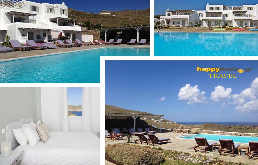 Διακοπές στην MYKONO: Από 178€ για 4ήμερη απόδραση, με Πρωινό, στο παραδοσιακό ''Yakinthos Residence'' στον Πάνορμο εικόνα