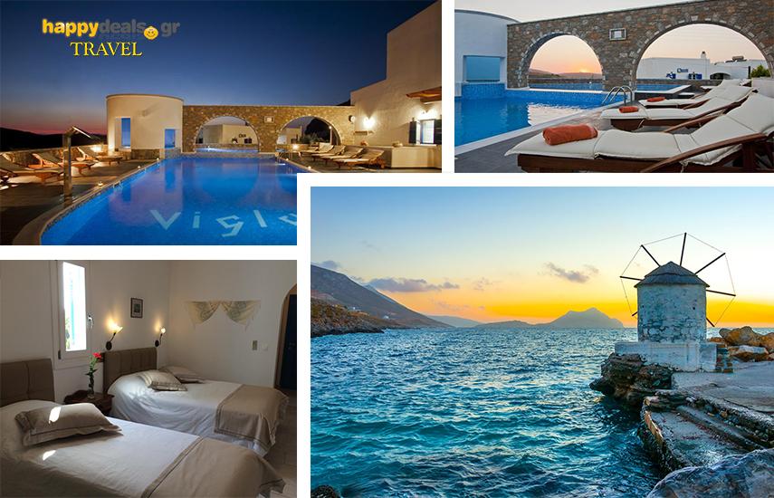 Διακοπές στην ΑΜΟΡΓΟ: Από 170€ για 5ήμερη απόδραση, με Πρωινό & full extra, στο πολυτελές ''Vigla Hotel'', στα Θολάρια Αιγιάλης εικόνα