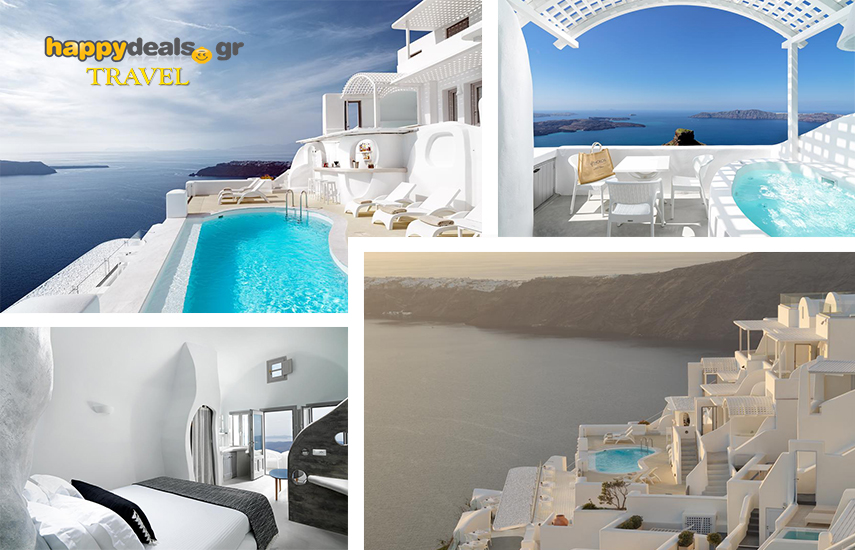 Διακοπές στην ΣΑΝΤΟΡΙΝΗ: Από 339€ για 4ήμερη απόδραση στο παραδεισένιο 4* ''Tholos Resort'' στο Ημεροβίγλι εικόνα