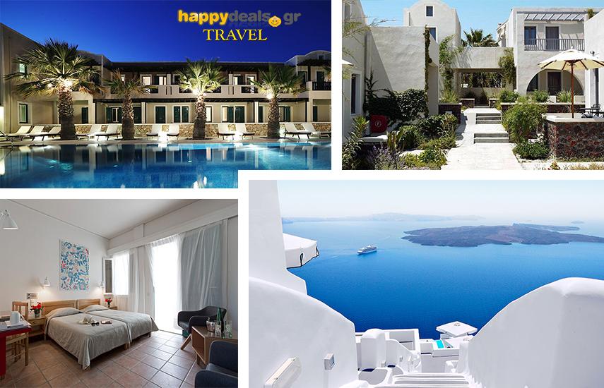 Διακοπές στην ΣΑΝΤΟΡΙΝΗ: Από € για 5ήμερη, απόδραση, με Πρωινό, στο ειδυλλιακό 4* ''Rose Bay Hotel'' στο Καμάρι εικόνα