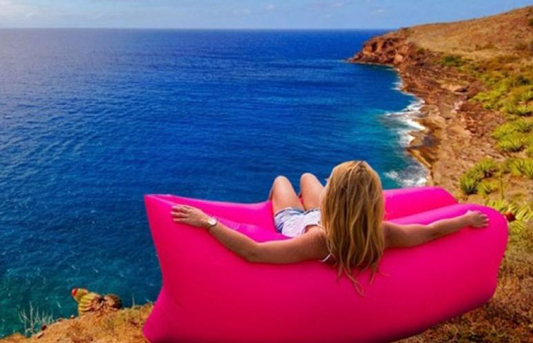 26,5€ από 120€ για επαναστατικό πτυσσόμενο φουσκωτό Στρώμα-Ξαπλώστρα, ιδανικό για Παραλία, πισίνα, κήπο, εξοχή, έτοιμο σε 5'' & με θήκη μεταφοράς