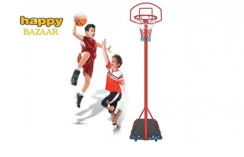 77,9€ από 161,3€ για Παιδική μπασκέτα με ταμπλό και βάση της Jocca Home & Life σε κόκκινο χρώμα με ρυθμιζόμενο ύψος & ρόδες