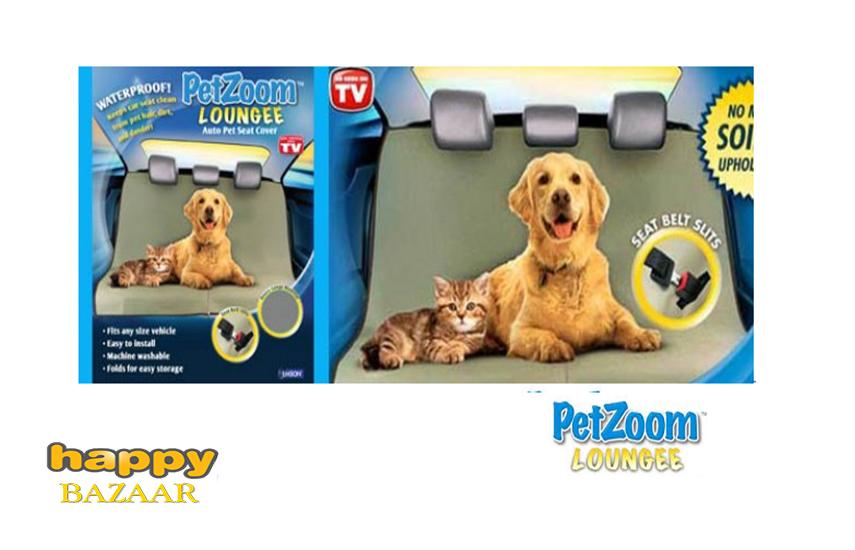 8,5€ από 28€ για Κάλυμμα Καθίσματος Αυτοκινήτου ''Pet Zoom Lounge'' για τα Κατοικίδια, για όλους τους τύπους των οχημάτων