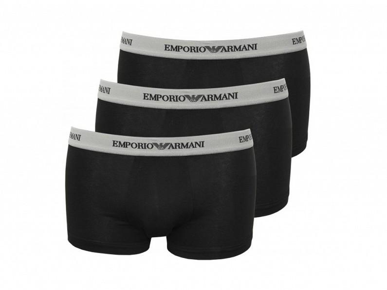 33,5€ από 69,8€ για ''Emporio Armani'' Ανδρικά boxers, Σετ 3 τεμαχίων, σε Μαύρο χρώμα & Διαθέσιμο σε small-medium