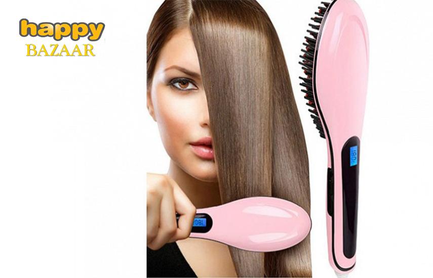 9,5€ από 49,9€ για Θερμαινόμενη Βούρτσα ισιώματος Μαλλιών ''Beautiful Star'', για Ταχύτατο Ίσιωμα και Styling