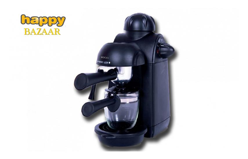 43,9€ από 101€ για Μηχανή Espresso Cappuccino και Ζεστή Σοκολάτα ''Sogo'', με 5 bar πίεση