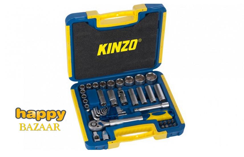 54,9€ από 120,9€ για Εργαλειοθήκη Βαλίτσα ''Kinzo'' με 41 Εργαλεία