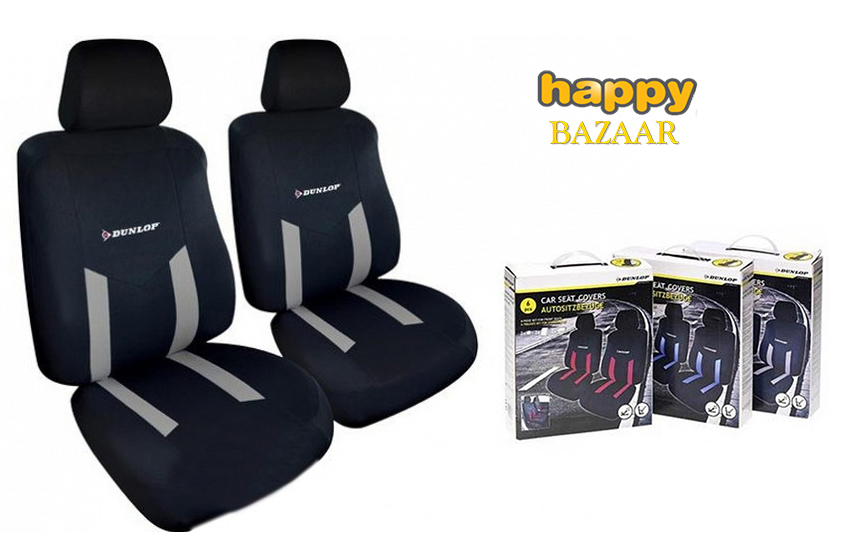 23,50€ από 49,90€ για Universal Καλύμματα Καθισμάτων Αυτοκινήτου ''Dunlop'', σετ 6 τεμαχίων, διαθέσιμα σε Γκρι χρώμα