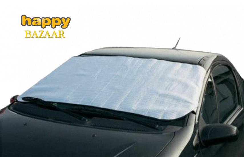 3,50€ από 7,99€ για Ηλιοπροστασία Κάλυμμα Παρμπρίζ Αυτοκινήτου για 'Ηλιο, Πάγο και Χιόνι 70x140cm