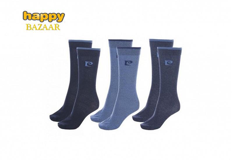 9,5€ από 19,80€ για Ανδρικές Κάλτσες Pierre Cardin, σετ 6 ζευγαριών, με Υψηλή περιεκτικότητα σε βαμβάκι (σε 4 χρώματα)