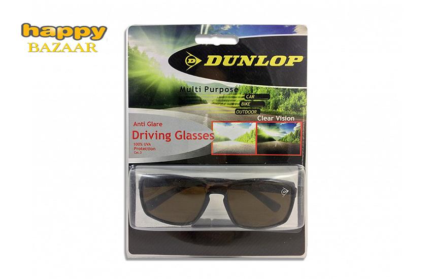 9,9€ από 21,8€ για Γυαλιά Ηλίου ''Dunlop'', με Σκελετό Ταρταρούγα, Καφέ φακό, 100% προστασία UVA & Υφασμάτινη θήκη αποθήκευσης