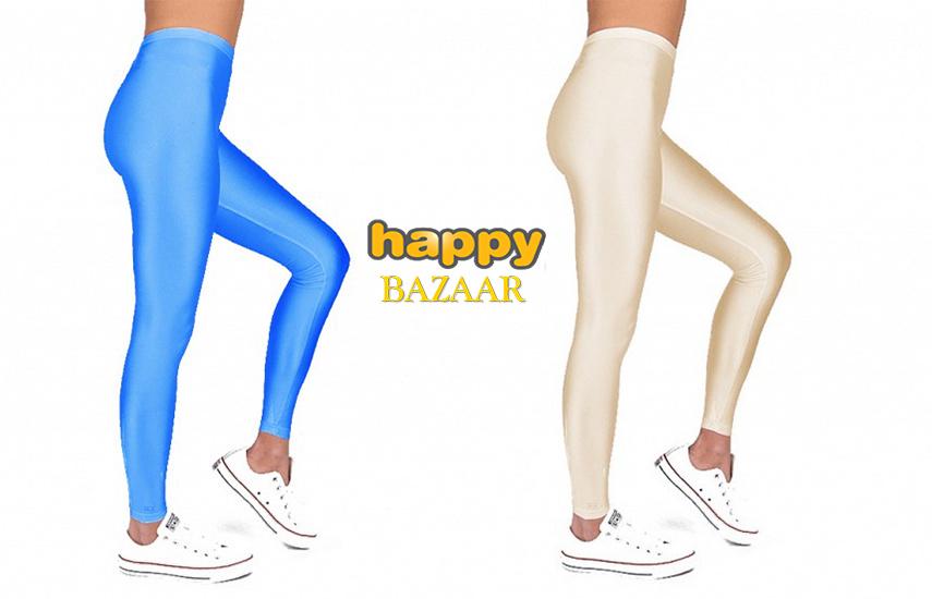 12,9€ από 27,8€ για Γυναικείο Legging Κολάν Γυαλιστερό Μεταλλιζέ σε ένα μέγεθος M/L, σε διάφορες υπέροχες αποχρώσεις
