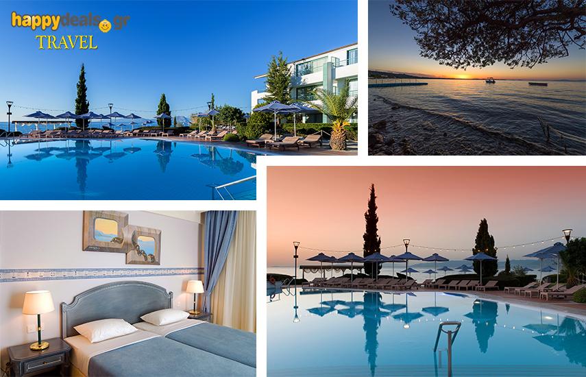 Διακοπές στην ΠΑΤΡΑ: Από 170€ για 5ήμερη απόδραση, με Πρωινό/Ημιδιατροφή, στο 5* ''Poseidon Palace'', στα Καμίνια, με την απερίγραπτη θέα στον Πατραϊκό κόλπο εικόνα