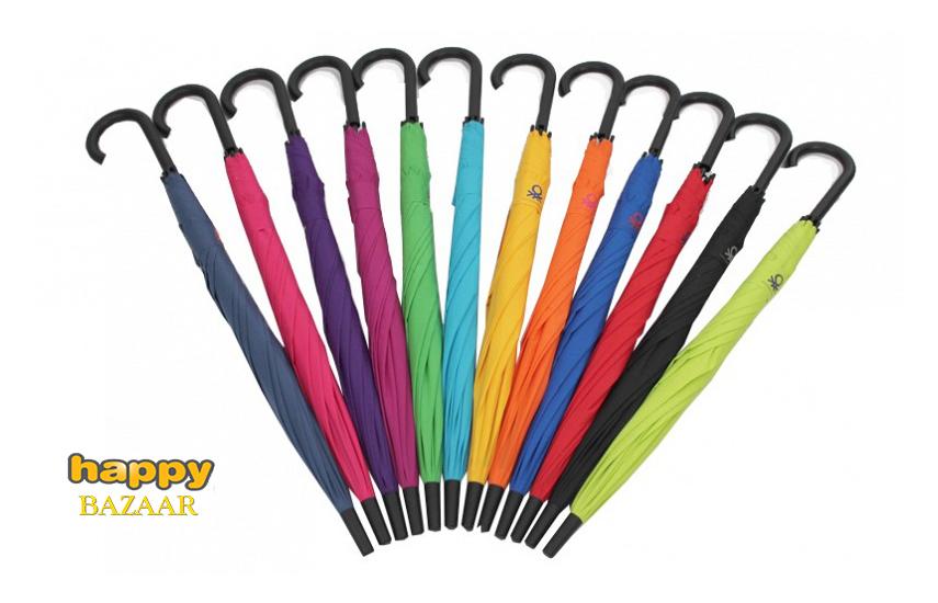 13,9€ από 29,9€ για Αυτόματη Ομπρέλα Βροχής ''Benetton'', σε 8 διαφορετικά χρώματα, ανθεκτική και πολύ πρακτική με σταθερό χερούλι