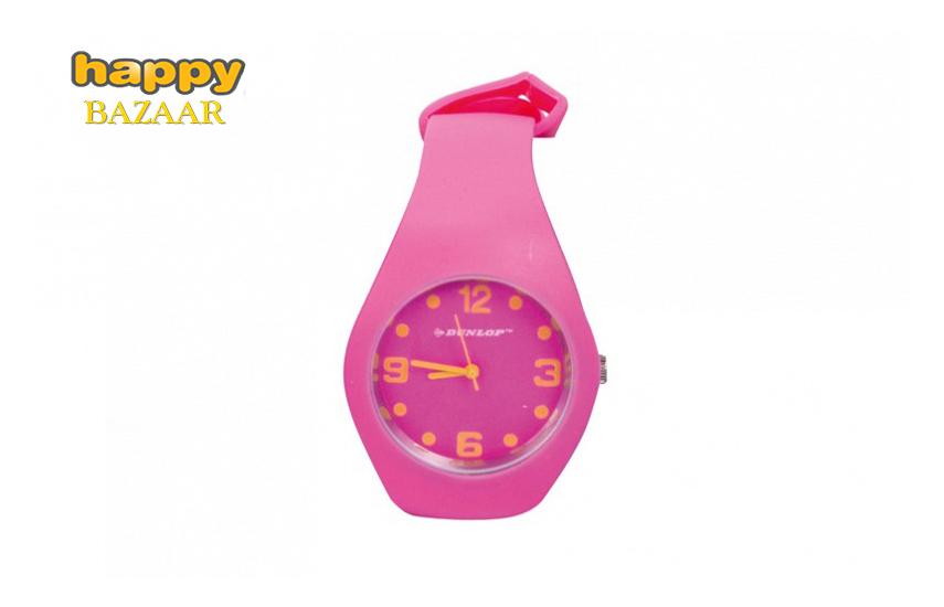 11,9€ από 29,9€ για Μοδάτο Αναλογικό Ρολόι χειρός ''Dunlop'', με λουράκι σιλικόνης, σε 8 διαφορετικά χρώματα