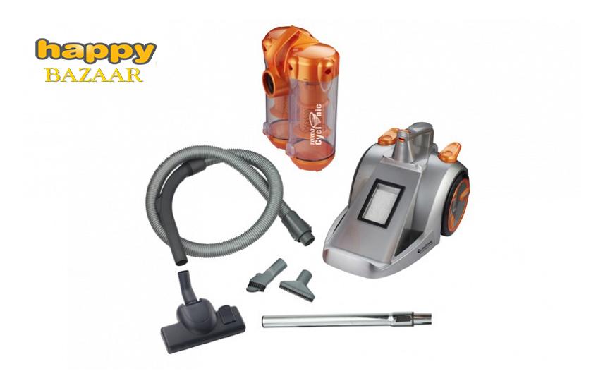 74,5€ από 189,9€ για Ηλεκτρική σκούπα ''Turbotronic'' χωρίς σακούλα, Υψηλής απορροφητικότητας, με σύστημα Cyclon