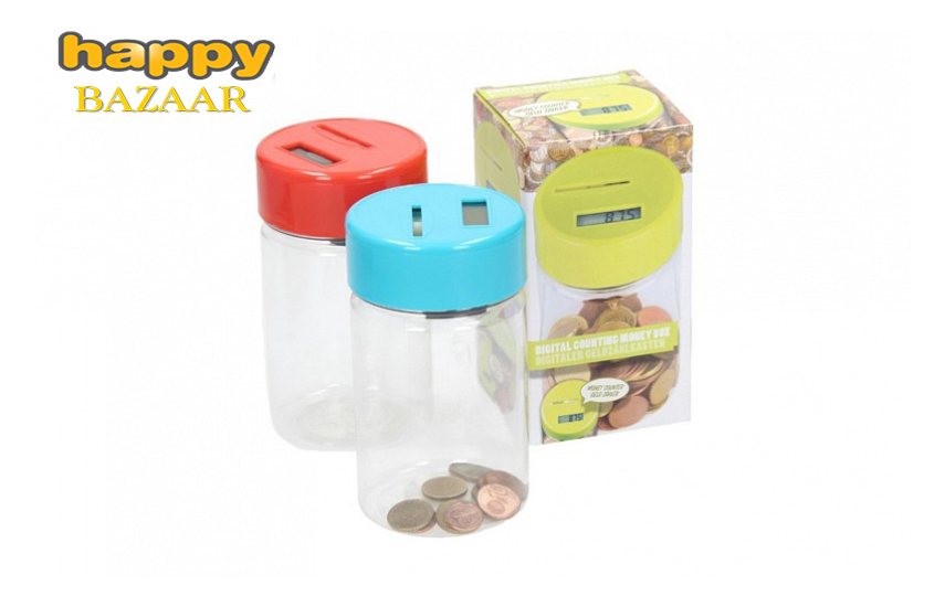 3,90€ από 20€ για Κουμπαρά με Ψηφιακό Μηχανισμό Μέτρησης Νομισμάτων, με κομψή σχεδίαση, σε τρία χρώματα.