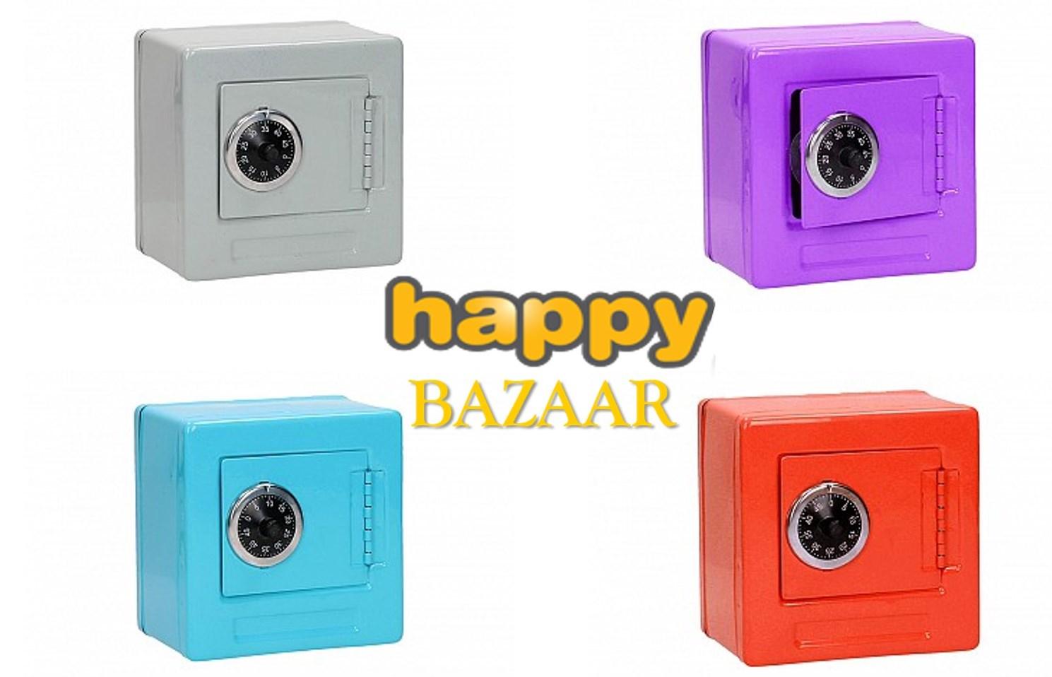 10,5€ από 20€ για Mini Μεταλλικό κουτί Αποθήκευσης / Χρηματοκιβώτιο με κωδικό κλειδώματος, σε πέντε χρώματα