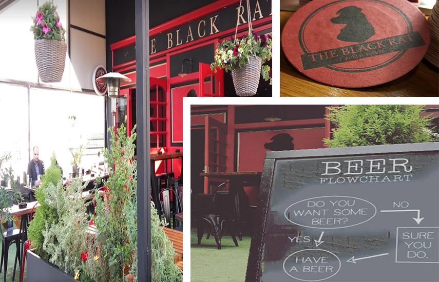 ΜΟΝΟ 2€ για 1 Μπύρα Draft Alfa 500ml στο ''The Black Rat'' στην Αγ.Παρασκευή, σε ένα σκηνικό που σας μεταφέρει σε κλασική παμπ στην Αγγλία